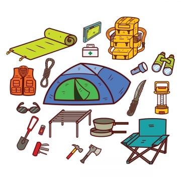Camping Equipment Png Vector Psd And Clipart With Transparent Background For Free Download Pngtree