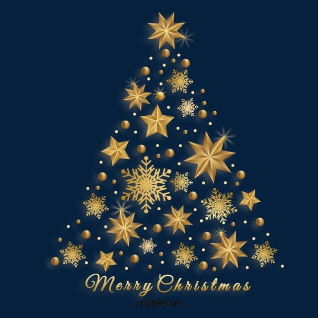 golden christmas tree star snowflake ornaments golden stars christmas tree png and vector with transparent background for free download golden christmas tree star snowflake