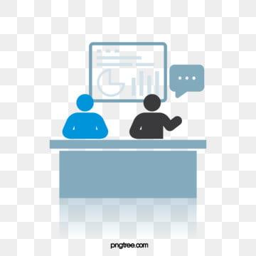 비즈니스 회의 테마 간단한 스타일 악당, 생활, 커뮤니케이션, 인물 PNG 및 벡터