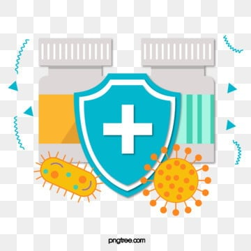 flat medical anti epide shield, Shield, Drug, Bacteria PNG and Vector