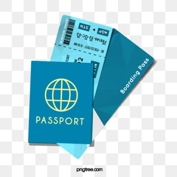 light green creative illustration airline ticket passport, Light Green, Creative, Illustration PNG and Vector