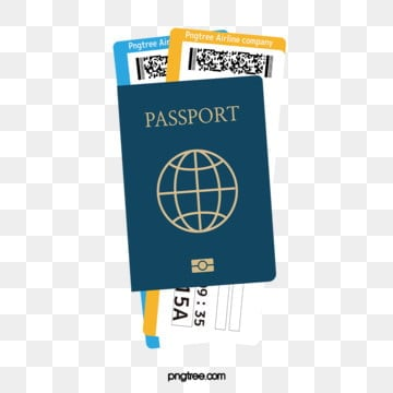 travel passport ticket, Travel, Identity, Plane Ticket PNG and Vector