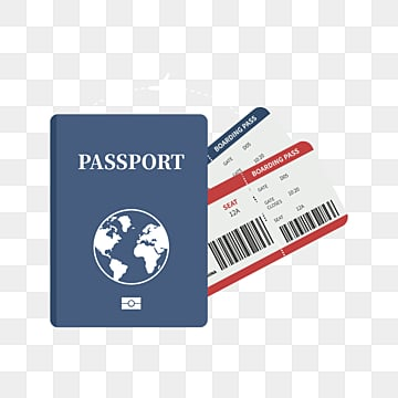 travel passport ticket, Tourism, City, Country PNG and Vector