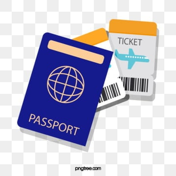 travel passport ticket, Tourism, Passport, Plane Ticket PNG and Vector