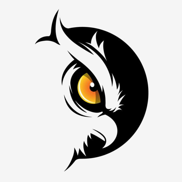 Chouette Sombre Vector Art Clipart Nature Animal Art Png Et Vecteur Pour Telechargement Gratuit
