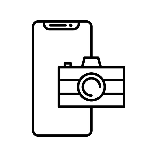 нет в приложении значка фотоаппарат на телефоне оборудование