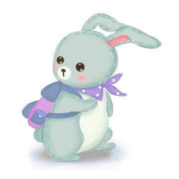 Free Download Blue Bunny Cartoon Singing Png Images Bunny Clipart Cartoon Clipart Cartoon Vector Arts Psd Files And Background