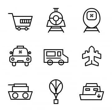 Transportation Vehicles Trains and Planes Car Truck Sailboat Clipart  PERSONAL USE Instant Download A423 | Beach clipart, Clip art, Digital clip  art