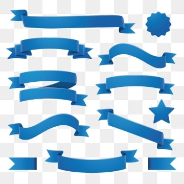 Blue Ribbon Png Images Vector And Psd Files Free Download On Pngtree