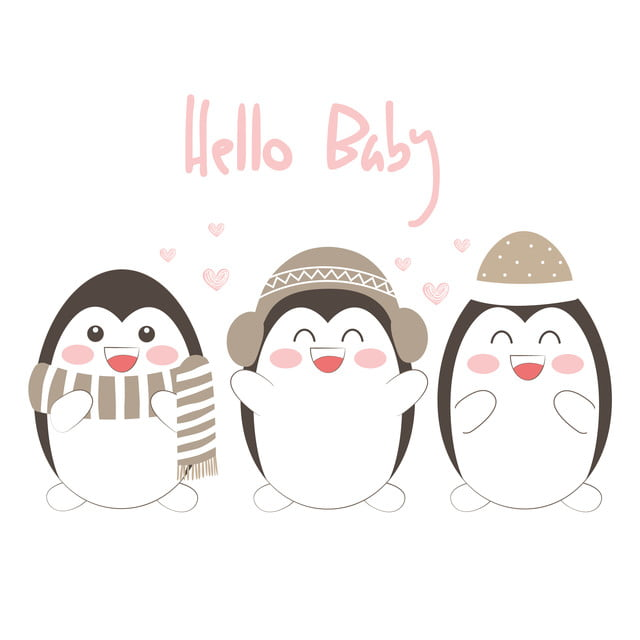 かわいい赤ちゃんペンギンイラスト 抄録 愛らしい 動物画像素材の無料ダウンロードのためのpngとベクトル