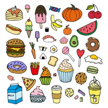 Food Clipart Png Images Vector And Psd Files Free Download On Pngtree