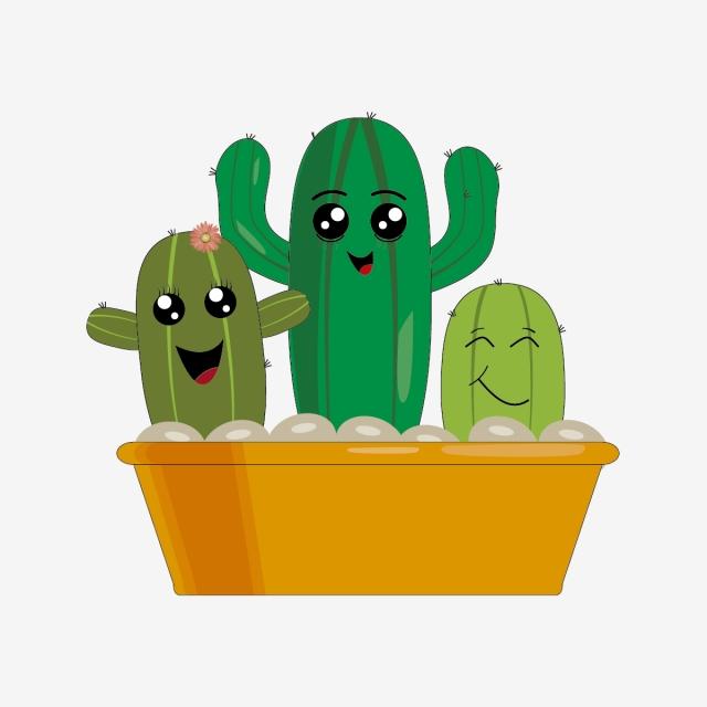 картинка кактуса с улыбкой