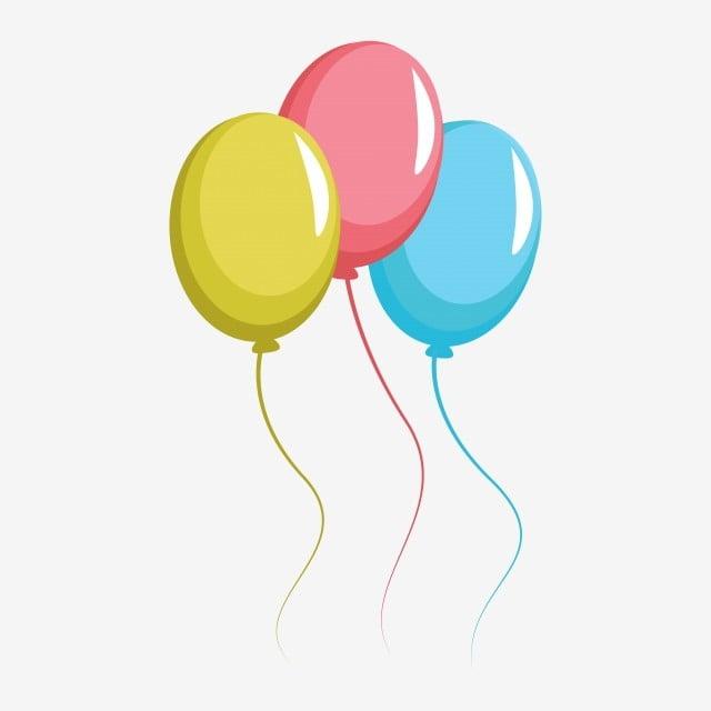 Ballon Anniversaire Fete Vecteur Clipart Element Png Clipart De Fete Ballon Ballon Anniversaire Png Et Vecteur Pour Telechargement Gratuit