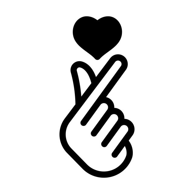 Símbolo Do Amor Coreano, ícones De Amor, ícones De Símbolo, Vestuário Imagem PNG e Vetor Para Download Gratuito
