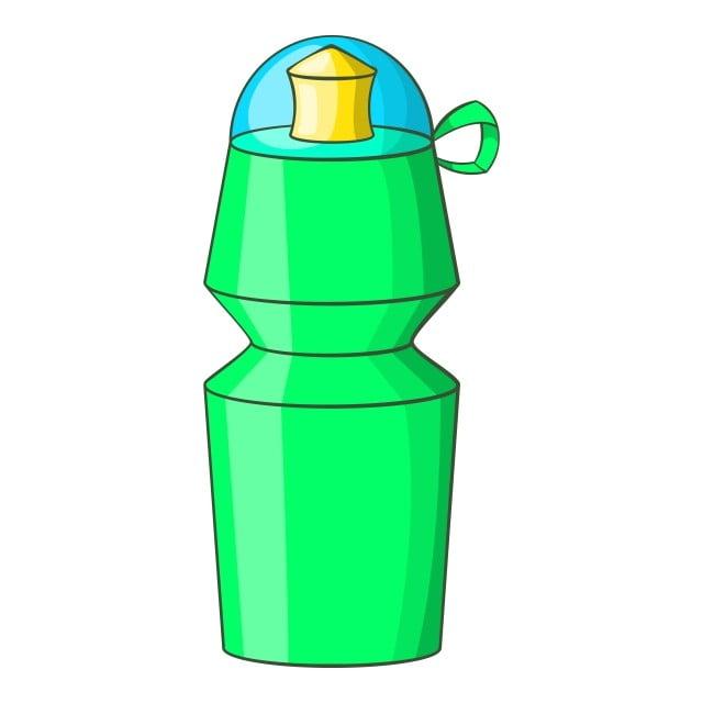 спортивная бутылка рисунок