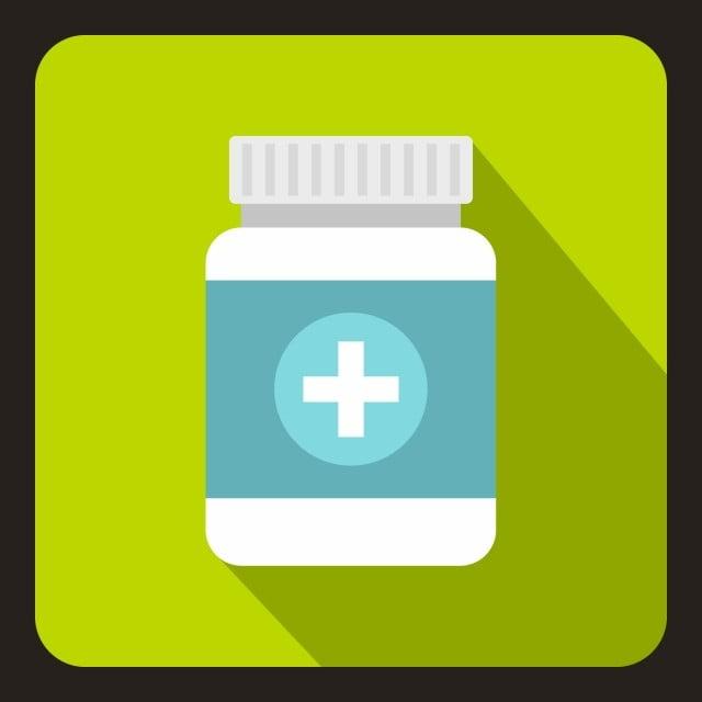 tablet dalam ikon jar plastik gaya datar tablet plastik toples png dan vektor dengan latar belakang transparan untuk unduh gratis ikon jar plastik gaya datar
