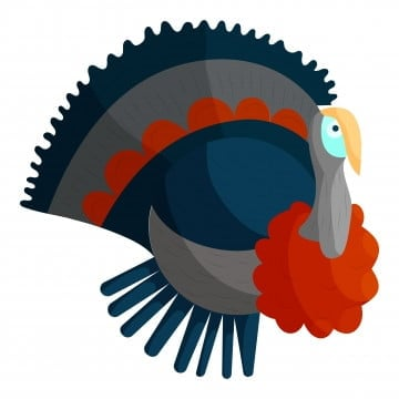 Clipart bw turkey Simple turkey clip art carrie s speech corner  articulation | Haskel.captainamericagifts.com