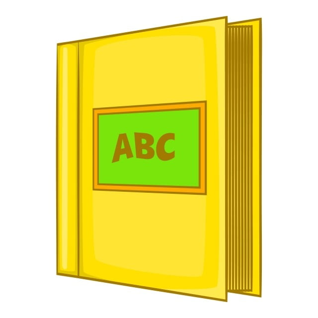 Abc Book Icon Cartoon Style Dictionary Clipart Book Icons Style Icons Png And Vector With Transparent Background For Free Download