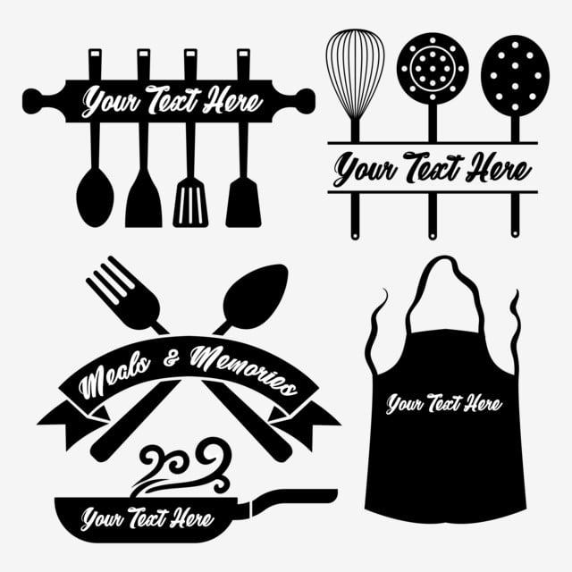 Ustensiles De Cuisine Set Element Monogram Cuisine Outil Serie