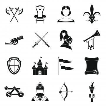 Ritter Symbole