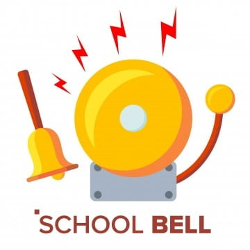 School Bell Png Vector Psd And Clipart With Transparent Background For Free Download Pngtree