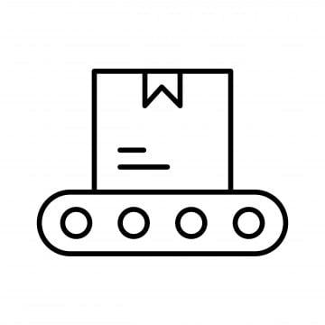 конвейер простой рисунок