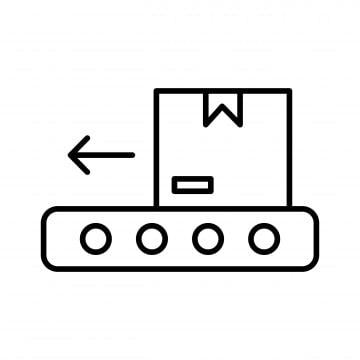 Конвейер простой рисунок зеленокумски элеватор