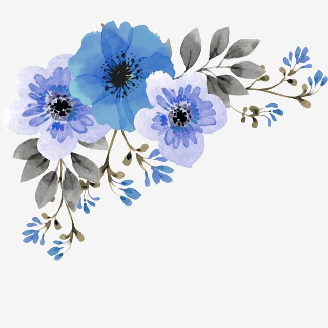 Flower Corner Png, Vector, PSD, And Clipart With