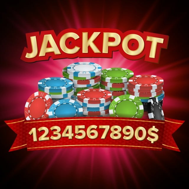 Hình ảnh Jackpot Lớn Thắng Vector Biểu Ngữ Sòng Bạc Sáng Cho Trò Chơi Sòng Bạc Trực Tuyến Roulette Poker, Sòng Bạc., Xì Phé., Khoai Tây Chiên Vector và PNG với nền
