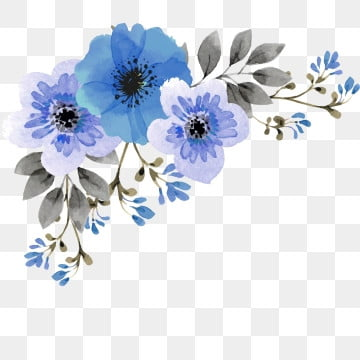Blue Flower Png Images Vector And Psd Files Free