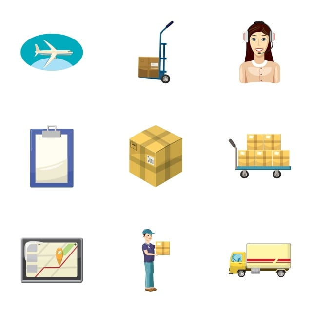 Transfer Icons Set Cartoon Style, Transfer, Icon, Vector PNG