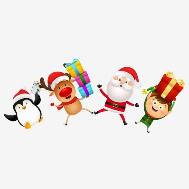 Celebration Of Christmas 2020 Christmas Characters Celebrations Png, Merry Christmas Characters