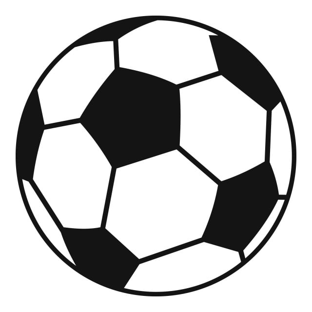 Soccer Ball Icon Simple Style, Soccer, Ball, Icon PNG and ...