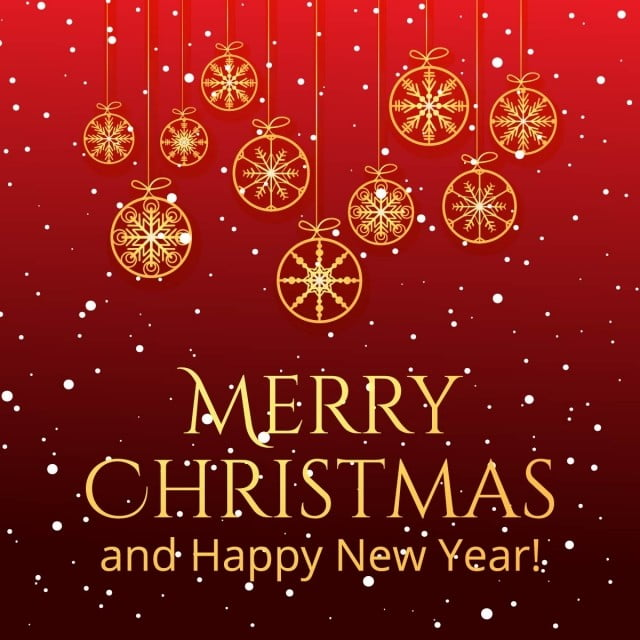 Beautiful Christmas Card Celebration Background