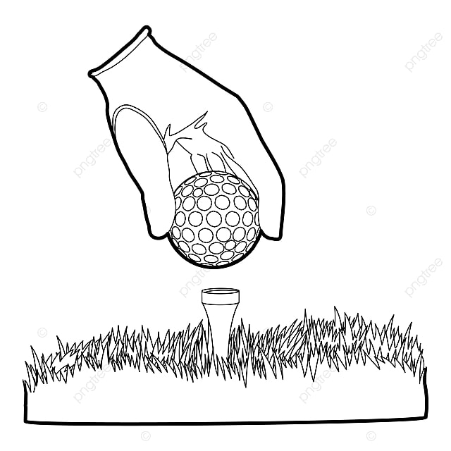 Golf Ball Icon Outline Style Style Icons Golf Icons Ball Icons Png And Vector With Transparent Background For Free Download