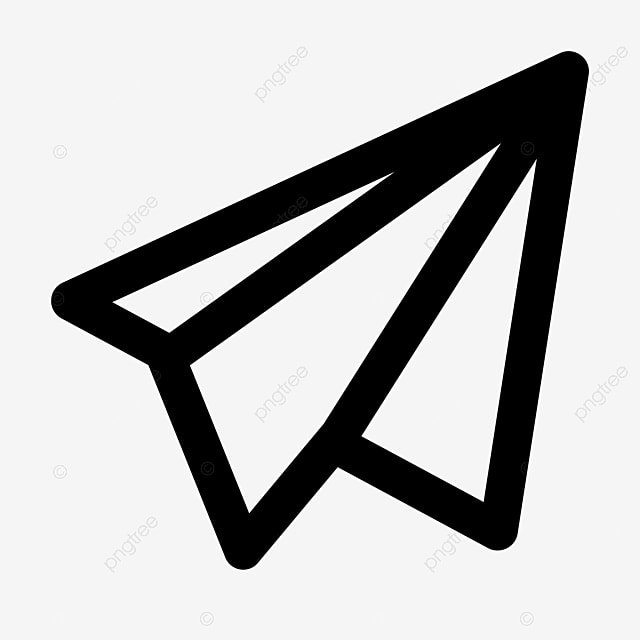 Paper Airplane Line Icon Vector Airplane Icons Line Icons Paper Icons Png And Vector With Transparent Background For Free Download