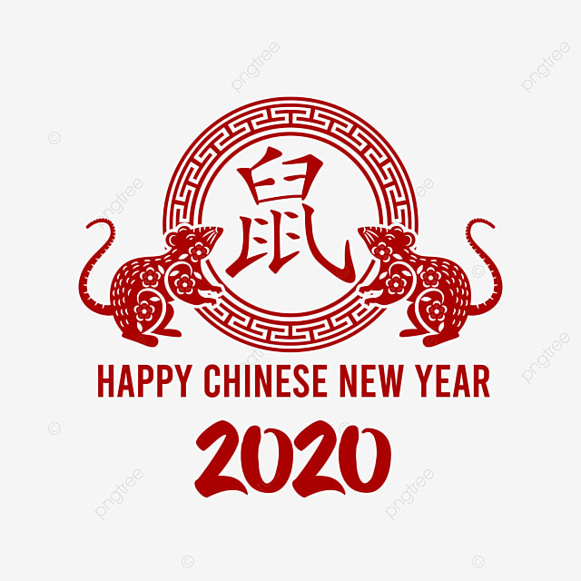 2020 Chinese New Year Of Rat, Rat, Ornament, Chinese New ...
