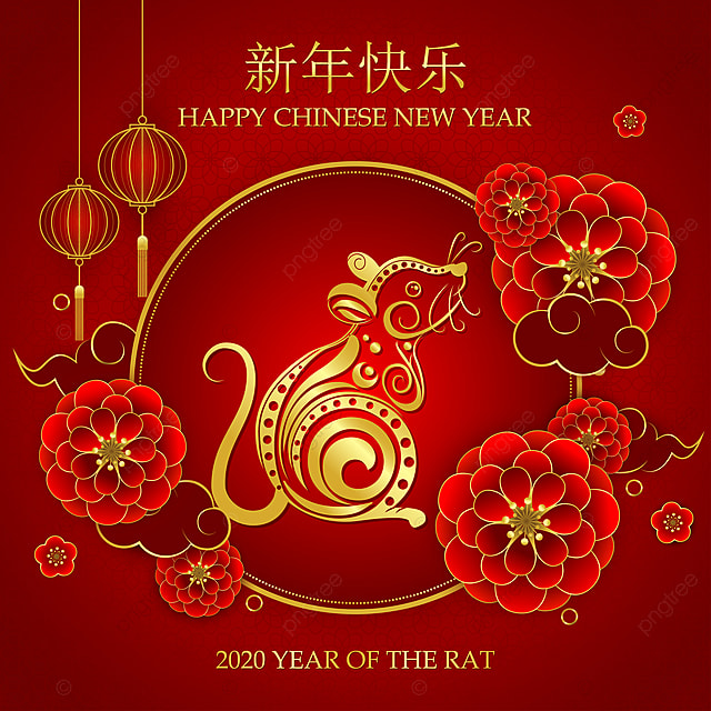 Chinese New Year 2020 Year Of The Rat The Greeting, Luck ...