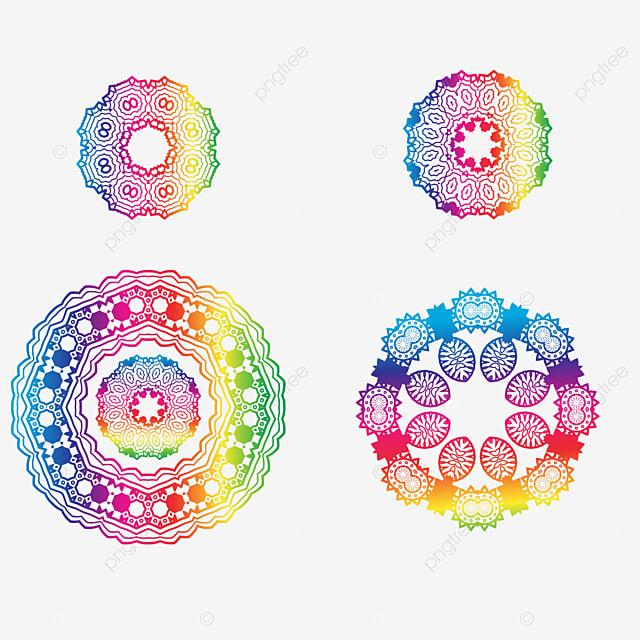 Colorful Mandala Artwork Mandala Creative Complex Design