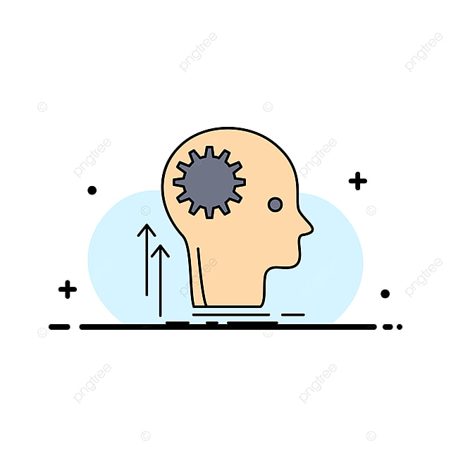 Mind Creative Thinking Idea Brainstorming Flat Color Icon Ve Idea Icons Thinking Icons Color Icons Png And Vector With Transparent Background For Free Download