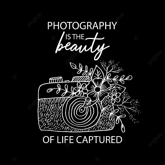 La Fotografía Es Belleza De La Vida Capturado Póster De Cita