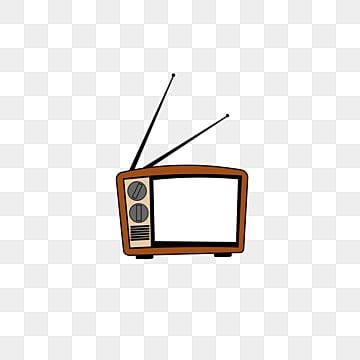 Gules Retro Cartoon Old And Worn Out Png Transparent Background Retro Old Antenna Tv Set Images Vector Psd Files