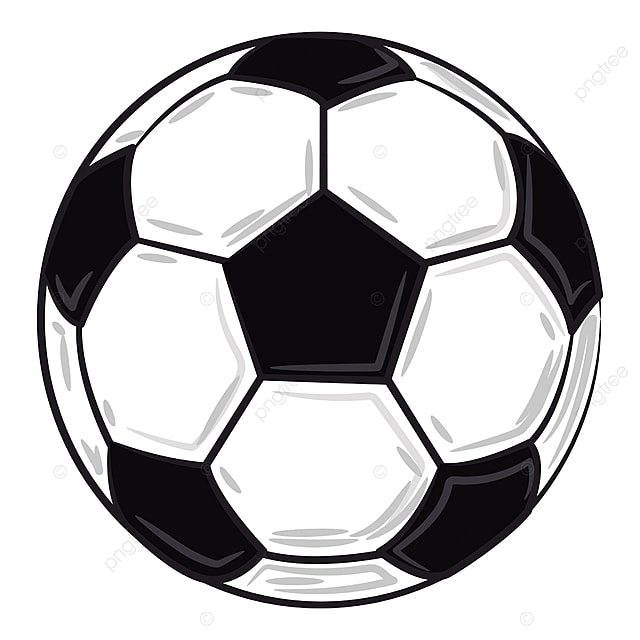 a white black soccer ball vector or color illustration, soccer ball  clipart, summer, ball png and vector with transparent background for free  download  pngtree