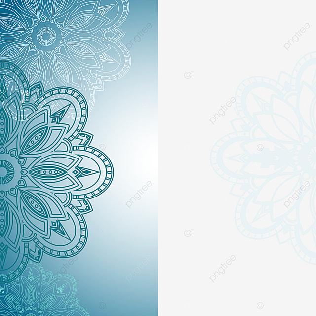 Mandala With Light Blue Background Png Mandala Wedding