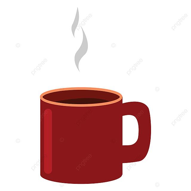 gambar cangkir kopi vektor atau ilustrasi warna kopi panas minuman png dan vektor dengan latar belakang transparan untuk unduh gratis gambar cangkir kopi vektor atau