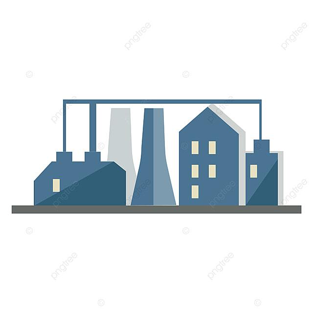 Clipart Industriel Avec Illustration Vectorielle Ou Couleur D Usine Usine Business Construit Png Et Vecteur Pour Telechargement Gratuit
