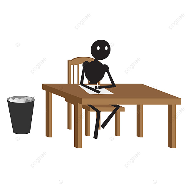 Marvelous Man Sitting On Chair Illustration Vector On White Background Caraccident5 Cool Chair Designs And Ideas Caraccident5Info