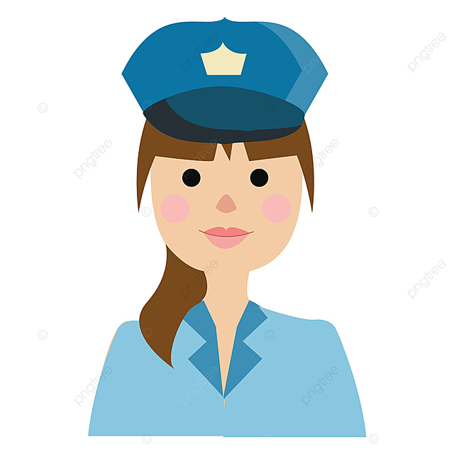 A Woman Being Arrested By A Cop and Garden Steps Background – Clipart  Cartoons By VectorToons