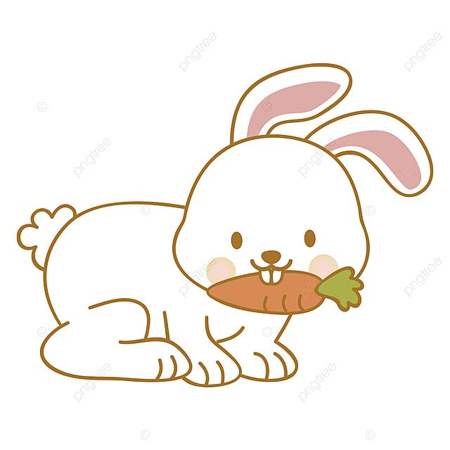 Conejito Comiendo Un Vector De Ilustracion De Zanahoria Sobre Fondo Blanco Conejito Lindo Zanahoria Png Y Vector Para Descargar Gratis Pngtree Do quests for bunny, find notes, and complete the mission! conejito comiendo un vector de