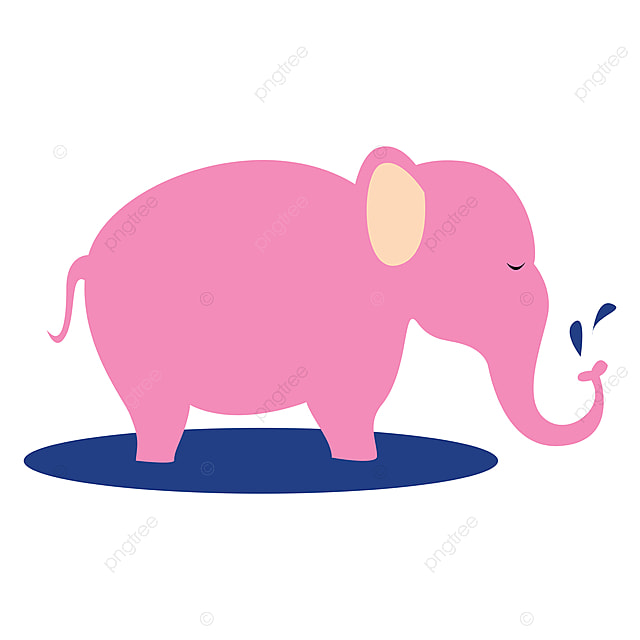 Pink Elephant Illustration Vector On White Background Fun Wild Elephant Png And Vector With Transparent Background For Free Download Check out our pink elephant png selection for the very best in unique or custom, handmade pieces from our digital shops. pink elephant illustration vector on